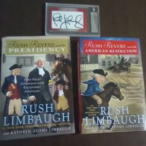 Rush Limbaugh autograph/books combo
